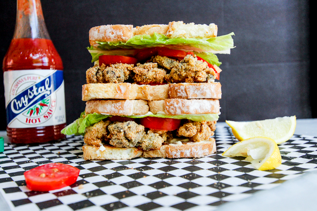 Fried Oyster Sandwich Recipe